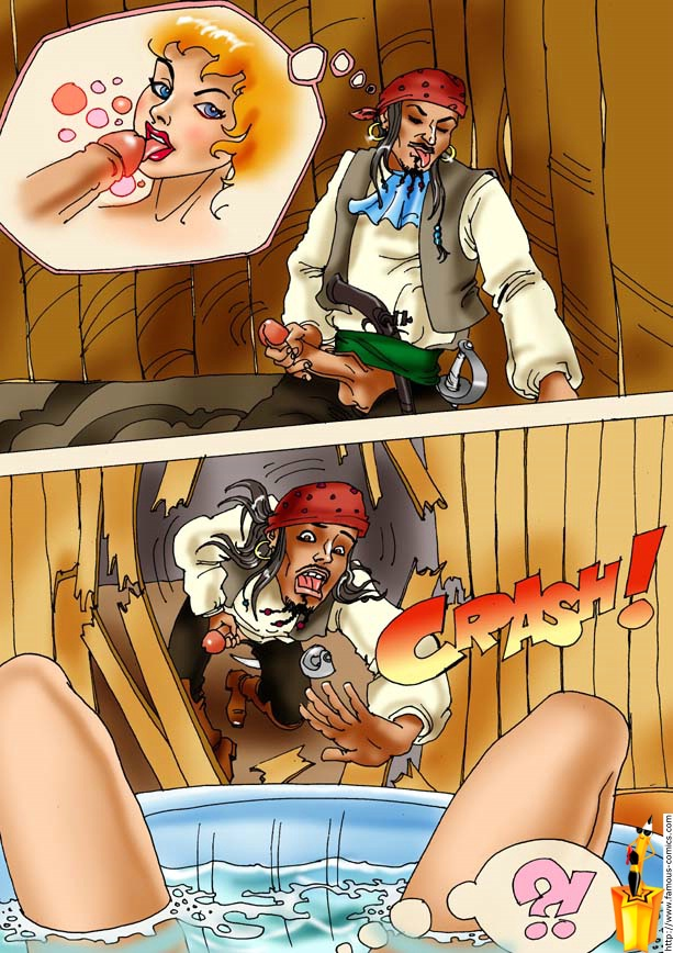 338Секс на корабле пираты
