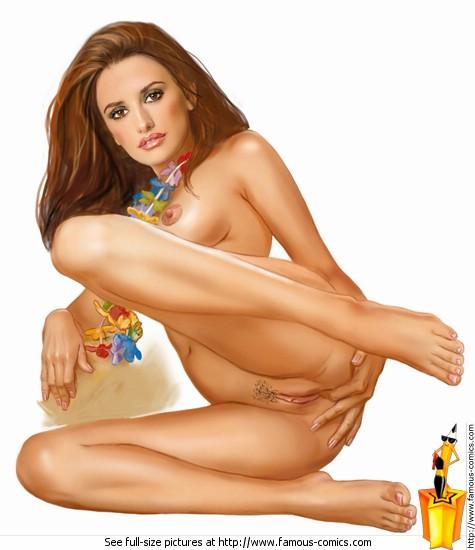 Fake celebrity nude pics Penelope Cruz